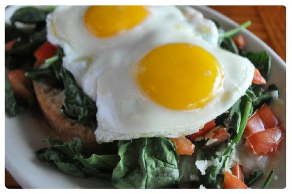 Eggs Bruschetta, Anytime Breakfast, Local Chamber, Shibley Properties