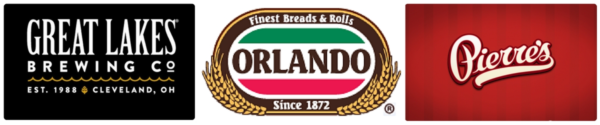 Great Lakes, Orlando Bread and Rolls, Pierres Ice Cream, Yours Truly