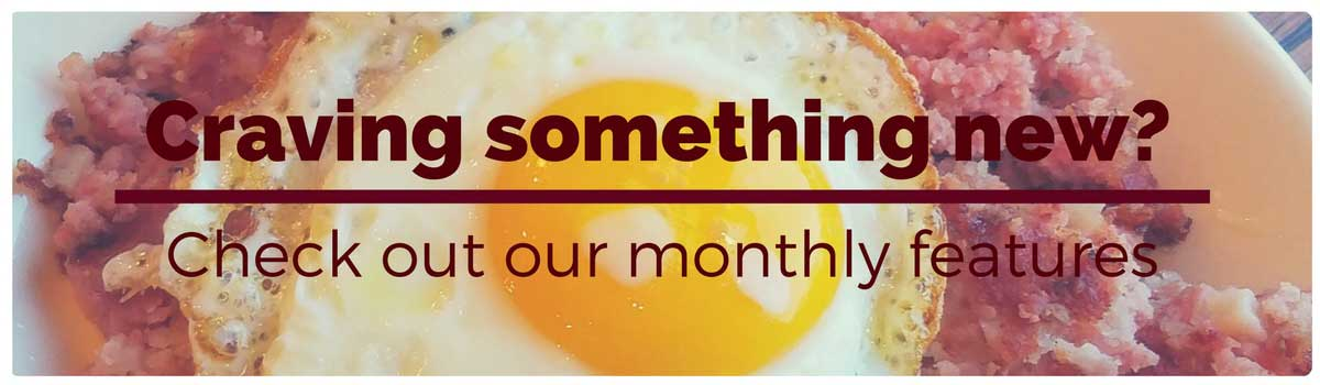 Anytime breakfast, corned beef hash, traditional, breakfast, family friendly