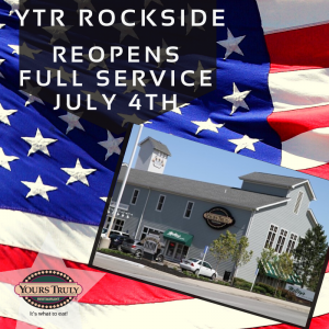 YTR Rockside reopens july4,2020